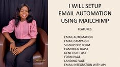 I will build mailchimp automation, email automation, automation,on mailchimp – FiverrBox Email Marketing Strategy, Online Marketing, Email Campaign, Promotion, Messages, Text Posts, Text Conversations