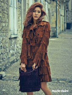 After School Uee - Marie Claire Magazine September Issue '15
