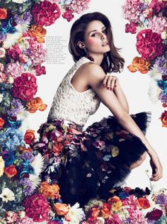 Olivia Palermo InStyle UK October 2012