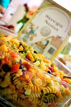 Pasta salad for Strega Nona