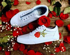 bb5e55190fb9 MONO SKYWAY Custom Rose Vans