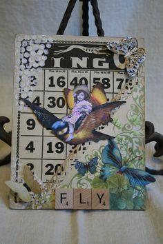 Fairy Altered Bingo Card