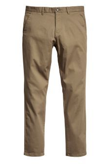 Buy Men's trousers Natural Natural Trousers from the Next UK online shop Natural Man, Stretch Chinos, Next Uk, Uk Online, Khaki Pants, Trousers, Slim, Stuff To Buy, Men