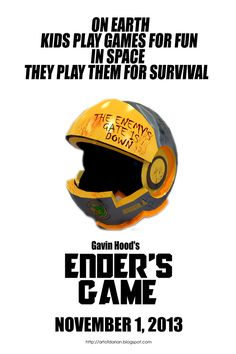 Ender's Game....I absolutely love the series. Why did I not know there was a movie?