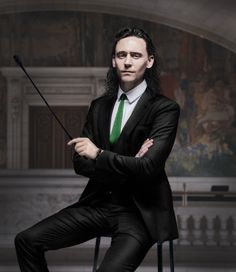 Loki - Behave? by RancidRainbow Digital Art / Photomanipulation / People©2014 RancidRainbow