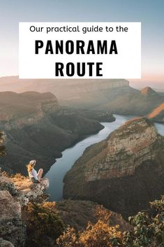 The Panorama route is one of the most famous routes in South Africa with a lot of impressive viewpoints as Blyde River Canyon, Three Rondavels, . Africa Destinations, Travel Destinations, Holiday Destinations, Cool Places To Visit, Places To Travel, Visit South Africa, Namibia, Arizona, Les Continents