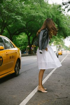 Cotton Dress in New York -2