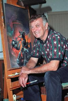 Frank Frazetta, Illustrator, Dies at Helped Define Comic Book Heroes Comic Book Artists, Comic Book Heroes, Comic Books Art, Comic Art, Frank Frazetta, Brooklyn, Famous Artists, Great Artists, Gi Joe