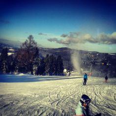 #ski #narty #wierchomla #stok #snow #snowboard