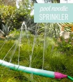 Summer Hack: DIY Pool Noodle Sprinkler