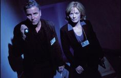 William Peterson --- Gil Grissom  Marg Helgenberger --- Catherine Willows
