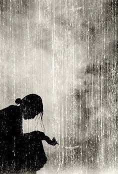 Beneath the sheets of rain I lay. It's cold here in the storm. With nothing on my lips to say. Nothing left to keep me warm. Broken on my knees I fall. Water rushes through my fingers. Pain pounds on my open palms trying to catch it if it lingers.