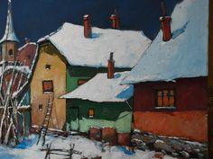 David Croitor:  l'hiver ,vers soir 2010