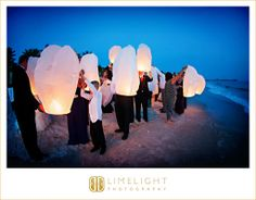 Ritz-Carlton Sarasota, Limelight Photography,  www.stepintothelimelight.com, Beach Wedding, Chinese Lanterns, Lights, Blue,