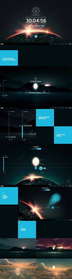 Futurist interface> give me some #concept and #interface ideas / #webdesign