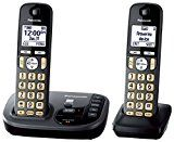 #8: Panasonic KX-TGD222M Cordless Phone with Answering Machine- 2 Handsets - phones (http://amzn.to/2cumGsb) printers (http://amzn.to/2cunwoO) shredders (http://amzn.to/2bXf0y6) projectors (http://amzn.to/2ch8mil) scanners (http://amzn.to/2bMXiIv) laminators (http://amzn.to/2ch9P8C)
