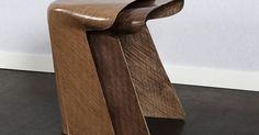 Toul stool from bio-composite material. - Bio-composite jute stool Stool is made from jute fibers and bio… Stool, Chair, Architecture, Fiber, Composite Material, Diy, Jute, Table, Design