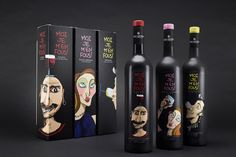 MOI JE M'EN FOUS! Wine Series on Packaging of the World - Creative Package Design Gallery