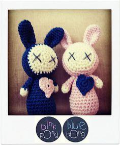 rabbits in love
