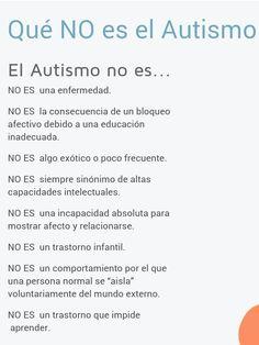 qué NO es autismo