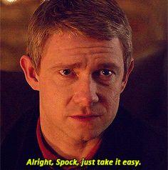 Star Trek + Sherlock = yay! :)