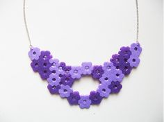 Lilac necklace by JK, because summer is near and everything starts to smell really nice. For more click http://www.facebook.com/media/set/?set=a.395302127156693.88282.294249787261928=3