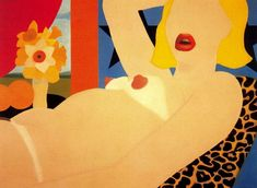 Great American Nude (2) by Tom Wesselmann (1931-2004, United States