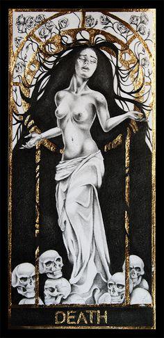 Death Tarot by Lenita92