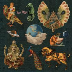 Mellon Collie Decoupage 2