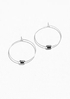 & Other Stories   Prism Hoop Earrings