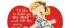 Cute Child's Vintage Valentine Printable from 1946 @ Vintage Fangirl