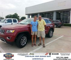 https://flic.kr/p/xvRh4Z | #HappyAnniversary to Jake Jacobs and your 2014 #Jeep #Grand Cherokee from Ruben  Cantu  at Huffines Chrysler Jeep Dodge Ram Lewisville! | www.deliverymaxx.com/DealerReviews.aspx?DealerCode=XMLJ