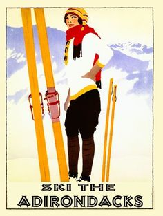 Ski Poster 1920's
