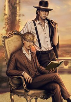 Eren and armin or kenny with.