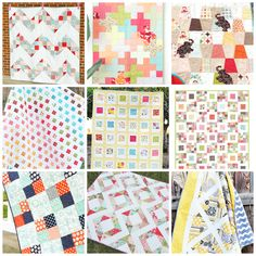Free Quilt Patterns using Charm Packs!