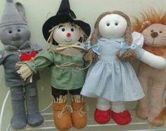 Bonecos Magico de Oz