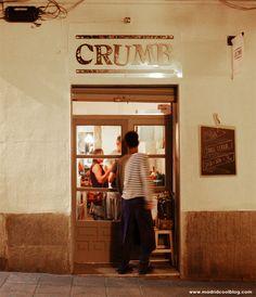 Un sitio para cenar después de ir al cine en Plaza de España. Crumb, en la calle Conde Duque.