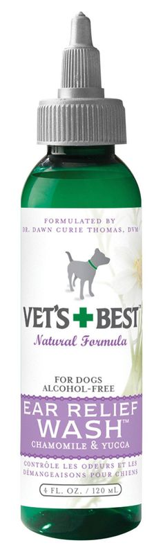 Vet's+best Ear Relief Wash For Dogs
