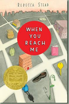 When You Reach Me by Rebecca Stead: My first thought when I closed the covers of this book was, Wow . My second thought was, I want to read this again . My third thought was, How can I possibly describe this book to anyone else? When You Reach Me is. Lamb Book, Newbery Medal, Newbery Award, We Were Liars, Books To Read, My Books, Reach Me, Middle School Reading, Chapter Books
