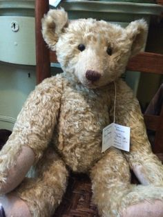 Forget Me Not Bear Named Beethoven by Liz Wiltshire.