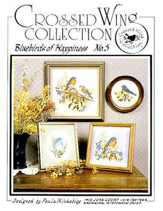 Bluebirds - Cross Stitch Patterns & Kits - 123Stitch.com