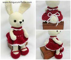 Carrot Dress For Dress Me Bunny ~ Amigurumi To Go