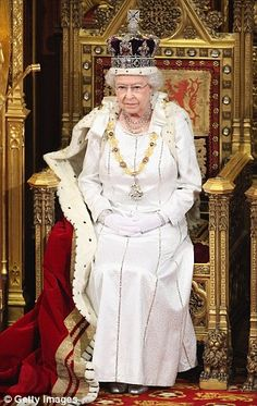 Queen Elizabeth II, the longest reigning monarch of Britain, became queen on Feb. after her father King Georgie VI died in his sleep of a coronary thrombosis at age Take a look back at her incredible reign. Windsor Fashion, Royal Fashion, Queen Fashion, Royal Jewels, Crown Jewels, Royal Crowns, Queen Elizabeth 2, Adele, Queen And Prince Phillip