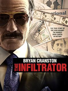Watch The Infiltrator Free Online - A U. Customs official uncovers a money laundering scheme involving Colombian drug lord Pablo Escobar. Streaming Movies, Hd Movies, Movies To Watch, Movies And Tv Shows, Movie Tv, Movies Online, Movies Free, Drama Movies, Pablo Escobar