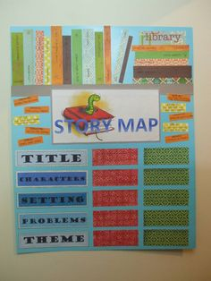 365 DAYS OF PINTEREST CREATIONS: day twenty six: story map for the classroom