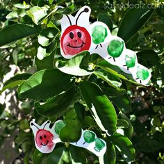 The Very Hungry Caterpillar Toe Print Craft For Kids - Crafty Morning Eric Carle, Spring Crafts For Kids, Art For Kids, Preschool Crafts, Fun Crafts, Hungry Caterpillar Craft, Spring Art, Book Activities, Art Projects