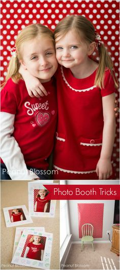 Capturing sweethearts: adorable photo booth and handmade card idea to work on with the kids for Valentine's Day! | Melissa & Doug's Playtime Press
