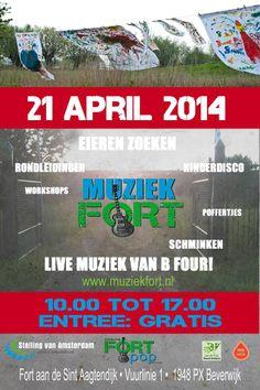Openstelling Muziekfort 21 april 2014 Beverwijk