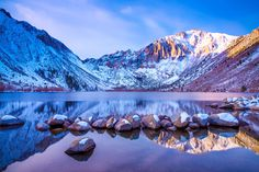 Convict Lake Snow by Moshe Levis - Photo 124805173 - 500px