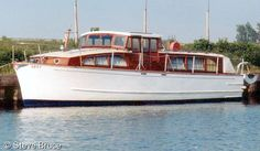 """'Star Premier' from Jack Powles hire fleet c.1960's 34' 6"""" x 10' 0"""". Hired this boat in the 1980's."""